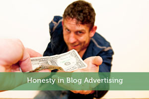 Honesty in Blog Advertising