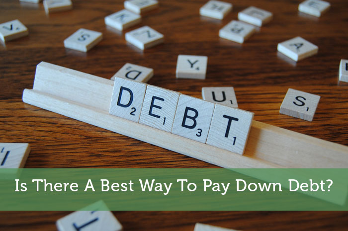 Is There A Best Way To Pay Down Debt?
