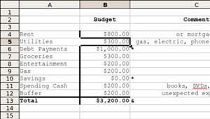 budget-spreadsheet