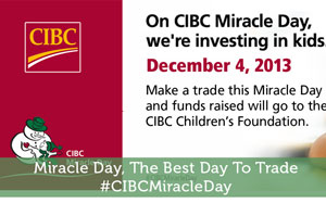 Miracle Day, The Best Day To Trade #CIBCMiracleDay