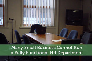 Many Small Business Cannot Run a Fully Functional HR Department