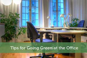 Tips for Going Green at the Office
