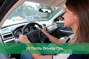 10 Thrifty Driving Tips