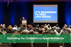 Expanding the Classroom to Reach Worldwide