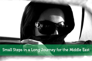 Small Steps in a Long Journey for the Middle East