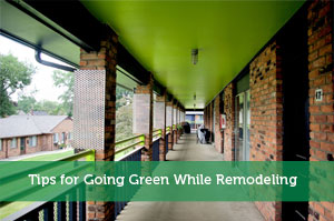 Tips for Going Green While Remodeling