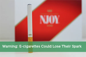 Warning: E-cigarettes Could Lose Their Spark