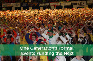 One Generation's Formal Events Funding the Next