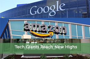 Tech Giants Reach New Highs