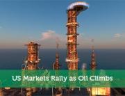US Markets Rally as Oil Climbs