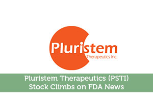 Pluristem Therapeutics (PSTI) Stock Climbs on FDA News