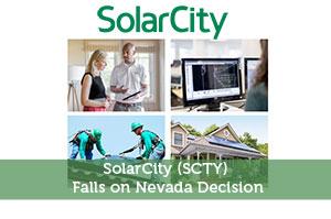 SolarCity (SCTY) Falls on Nevada Decision