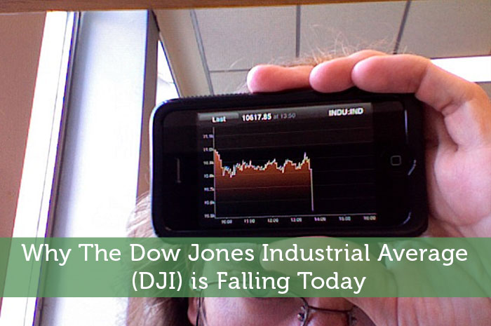 Why The Dow Jones Industrial Average (DJI) is Falling Today - Modest Money