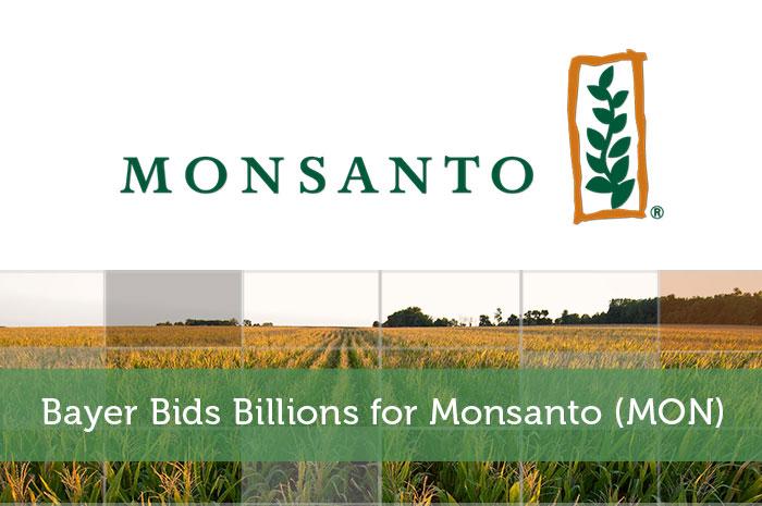 Bayer Bids Billions for Monsanto (MON)