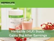 Herbalife (HLF) Stock Gains Big After Earnings