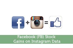 Facebook (FB) Stock Gains on Instagram Data
