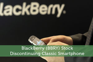 BlackBerry (BBRY) Stock: Discontinuing Classic Smartphone
