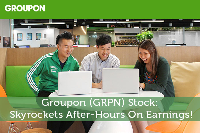 Groupon (GRPN) Stock: Skyrockets After-Hours On Earnings!