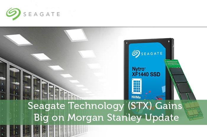 Seagate Technology (STX) Gains Big on Morgan Stanley Update