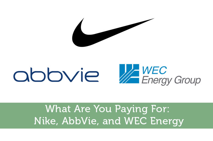 What Are You Paying For: Nike, AbbVie, and WEC Energy