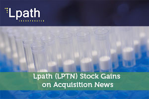Lpath (LPTN) Stock Gains on Acquisition News