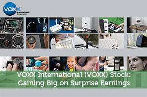 VOXX International (VOXX) Stock: Gaining Big on Surprise Earnings