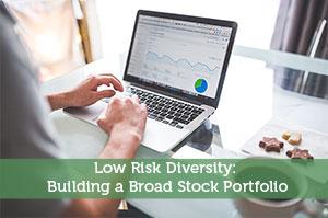 Low Risk Diversity: Building a Broad Stock Portfolio