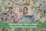 Mexican Peso Takes a Deep Dive Post Election Results