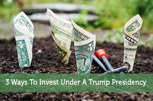 3 Ways To Invest Under A Trump Presidency