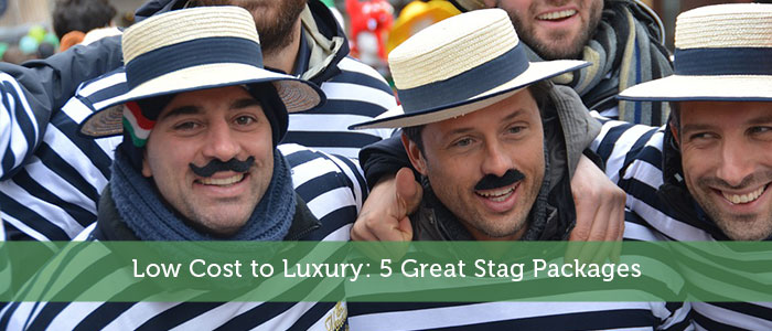 Low Cost to Luxury: 5 Great Stag Packages