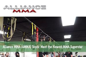 Alliance MMA (AMMA) Stock: Meet the Newest MMA Superstar
