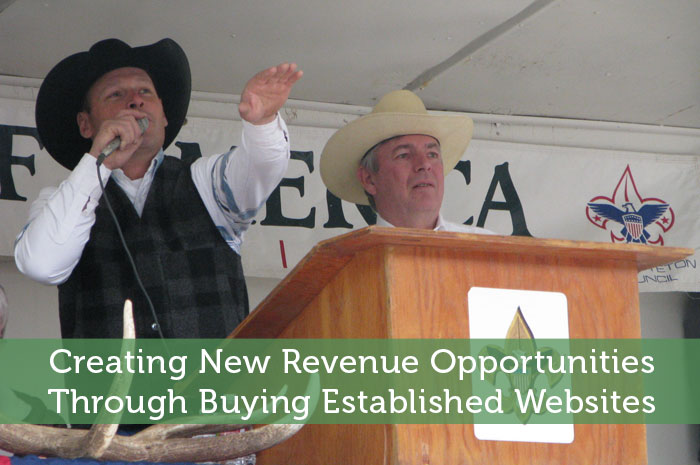 Creating New Revenue Opportunities Through Buying Established Websites