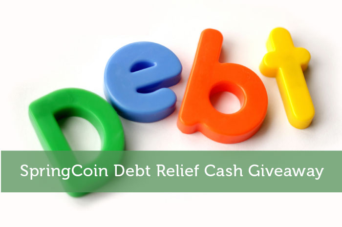SpringCoin Debt Relief Cash Giveaway