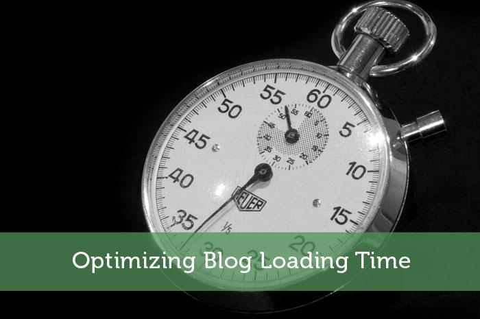 Optimizing Blog Loading Time