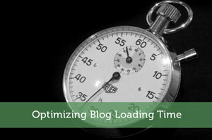 Optimizing Blog Loading Time