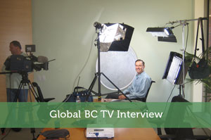 Global BC TV Interview