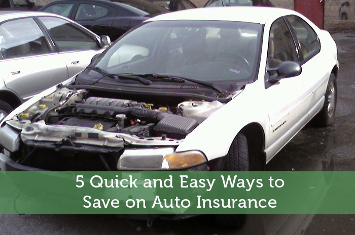 5 Quick and Easy Ways to Save on Auto Insurance