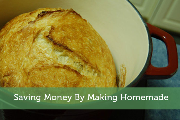 Saving Money By Making Homemade