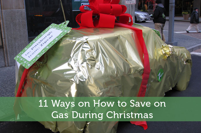11 Ways on How to Save on Gas During Christmas