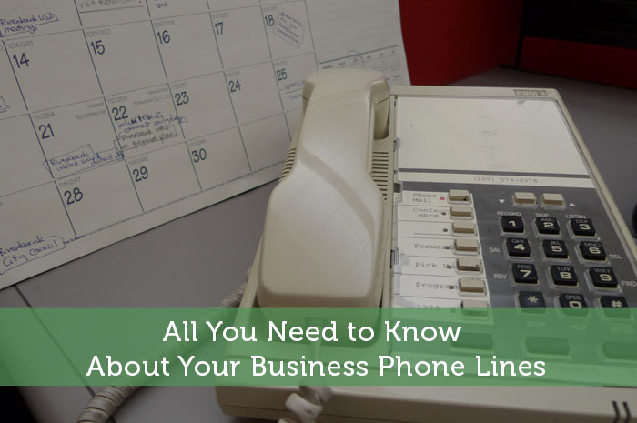 All You Need to Know About Your Business Phone Lines