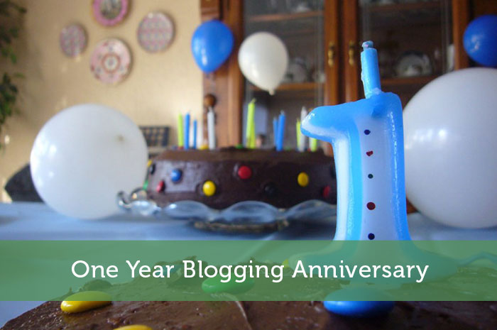 One Year Blogging Anniversary