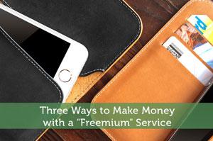 "Adam-by-Three Ways to Make Money with a ""Freemium"" Service"