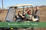 Becoming a One Car Family