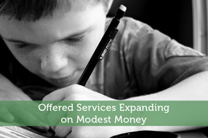 Offered Services Expanding on Modest Money