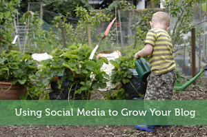Using Social Media to Grow Your Blog