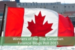 Winners of the Top Canadian Finance Blogs Poll 2013