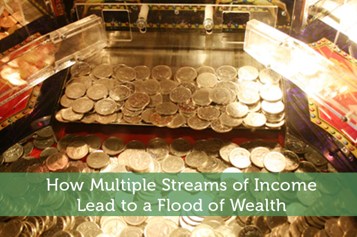 How Multiple Streams of Income Lead to a Flood of Wealth