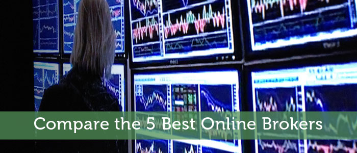 Compare the 5 Best Online Brokers