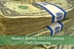 Modest Money 2013 Christmas Cash Giveaway