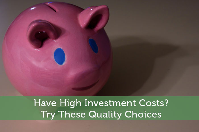 Have High Investment Costs? Try These Quality Choices
